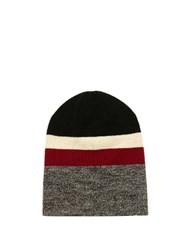 Etoile Isabel Marant Dreamy Striped Beanie Hat Green Multi
