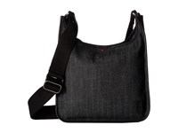 Ed Ellen Degeneres Fremont Crossbody 1 Dark Denim Black Cross Body Handbags