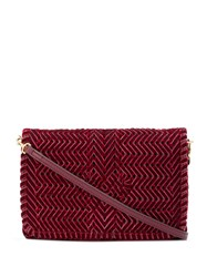 Anya Hindmarch Nesson Cross Body Bag Red