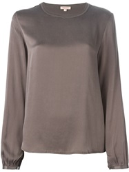 P.A.R.O.S.H. Long Sleeve Blouse Grey