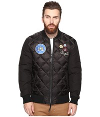 Staple Patch Bomber Jacket Black Men's Jacket