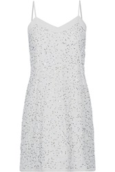 W118 By Walter Baker Elise Embellished Satin Dress