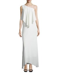 Elizabeth And James Ellie Chiffon Popover Gown Ivory