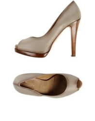 Eva Turner Pumps Beige