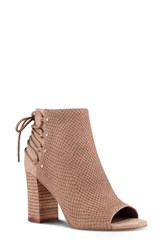 Nine West Women's Britt Bootie Natural Leather