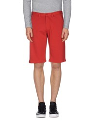 Sun 68 Trousers Bermuda Shorts Men Red