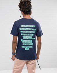 Cayler And Sons T Shirt In Navy Navy