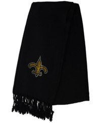 Little Earth Women's New Orleans Saints Pashi Fan Scarf Black