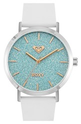 Women's Roxy 'The Royal' Glitter Dial Watch 40Mm