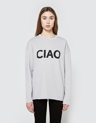 6397 Ciao Sweatshirt Heather Grey