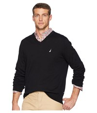 Nautica V Neck Sweater True Black