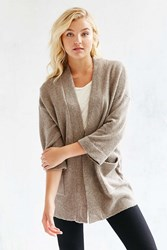 Silence And Noise Silence Noise Claire Cardigan Taupe