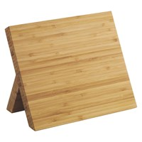 Habitat Panda Magnetic Knife Block Natural Bamboo