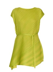 Issey Miyake Bi Colour Pleated Dress