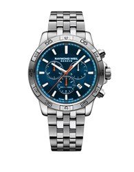 Raymond Weil Tango 300 Stainless Steel Chronograph Watch Silver