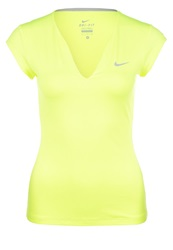 Nike Performance Pure Sports Shirt Lime Argente Neon Yellow
