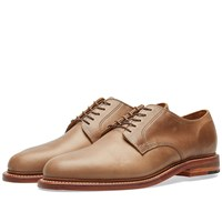 Oak Street Bootmakers Plain Toe Blucher Brown