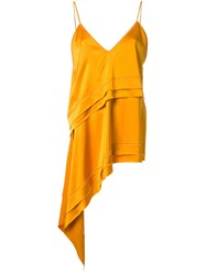 Manning Cartell Asymmetric Cami Top Yellow Orange