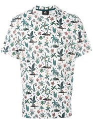Paul Smith Ps By Printed Short Sleeve T Shirt White