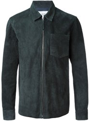 Our Legacy Zip Leather Jacket Black