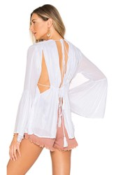 Indah Diego Top White