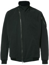 Julius Zipped Lightweight Jacket Black