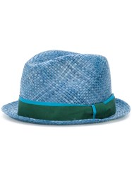 Paul Smith Woven Hat Blue