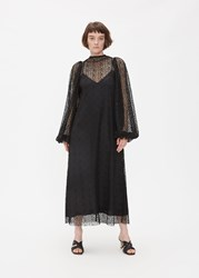 Beaufille 'S Cohen Dress In Black Size 2 Rayon Nylon Polyester Lining