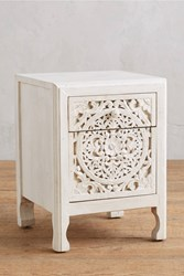 Anthropologie Lombok Three Drawer Dresser White