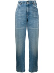 Gucci Logo Patch Straight Leg Jeans 60