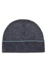 Ted Baker London Knit Cap Blue Navy