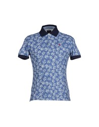 Jaggy Topwear Polo Shirts Men Pastel Blue