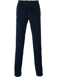 Incotex Denim Chinos Blue