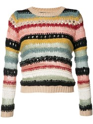 Alice Olivia Striped Jumper