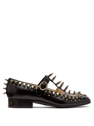 Gucci Marcel Studded Leather Loafers Black