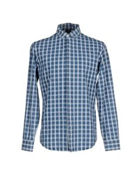 People Shirts Shirts Men Slate Blue