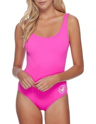 Body Glove Solid Scoopneck Maillot