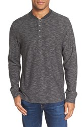 Jeremiah Men's Bailey Slub Henley Phantom