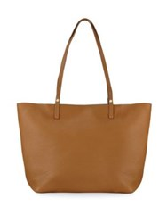 Gigi New York Tori Leather Tote Sable