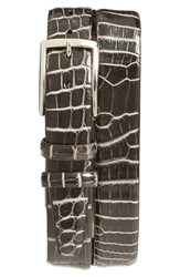 Men's Torino Belts 'Nile' Genuine Crocodile Leather Belt