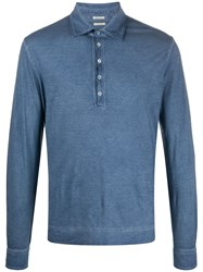 Massimo Alba Long Sleeve Polo Top 60