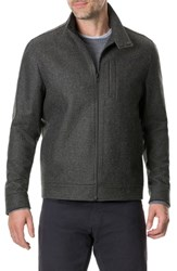 Rodd And Gunn Oyster Cove Regular Fit Wool Blend Jacket Olive