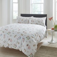 Cath Kidston Scattered Pressed Flowers Duvet Cover Pink
