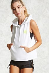 Forever 21 Active Nyc Sleeveless Hoodie