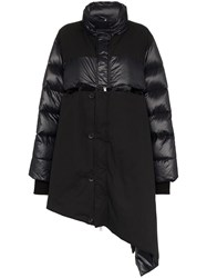 Unravel Project Coat Ls Pffr Zip Up W Asym Cut W Black