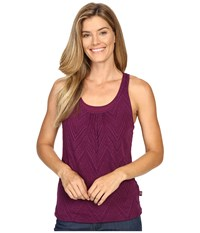 Prana Mika Top Grapevine Women's Sleeveless Purple