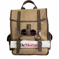 Kjore Project Evolution Of Goods Leather And Canvas Survey Evo Backpack