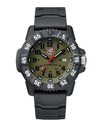 Luminox Master Carbon Seal Watch Black Green