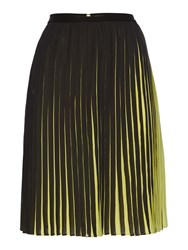 Pied A Terre Pleated Skirt Multi Coloured