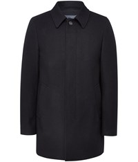 Austin Reed Navy Car Coat